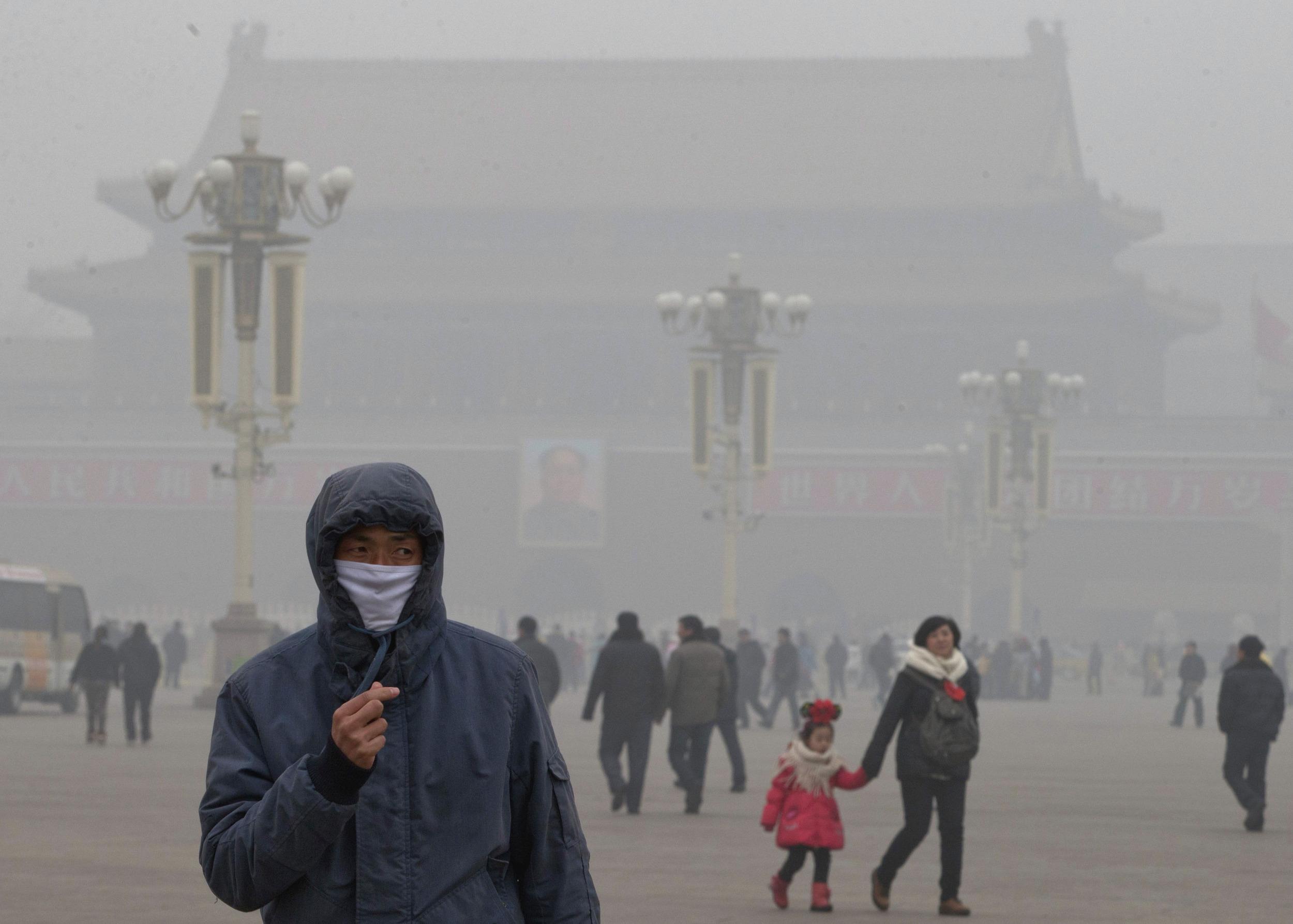 Cina e l'inquinamento